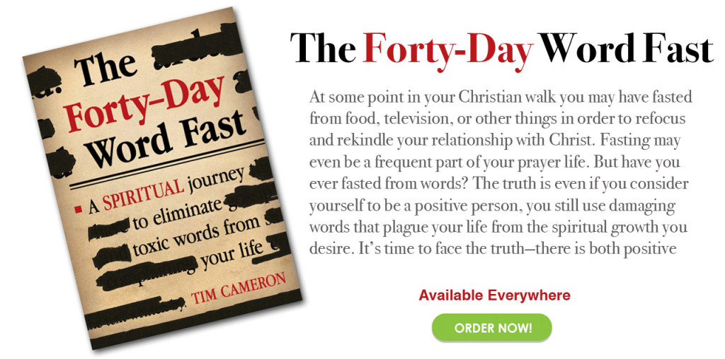 Forty Day Fast, Book by Tim Cameron
