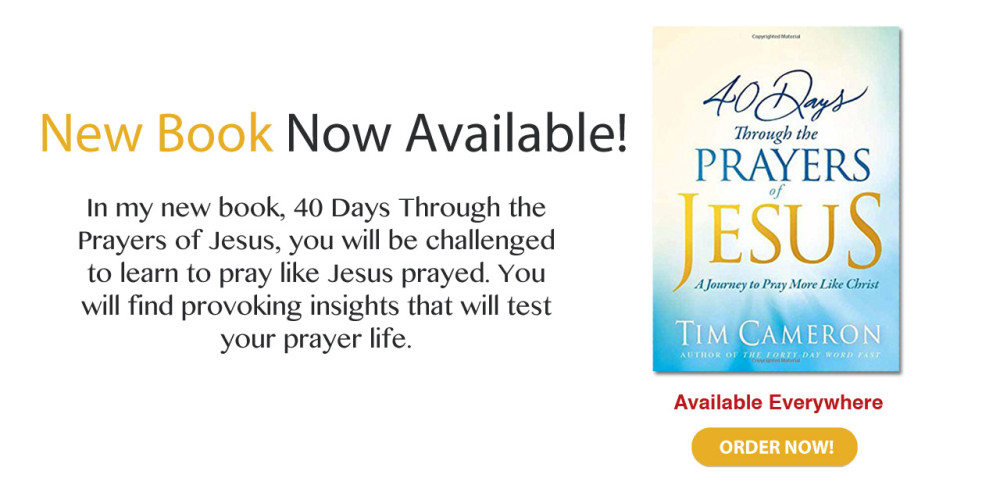 40 Days Through the Prayers of Jesus